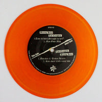 Blazing Haley / Los Creepers – Self-titled, Side A Orange Vinyl