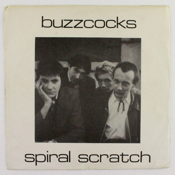 Buzzcocks - Spiral Scratch, Rabbit Hole Records