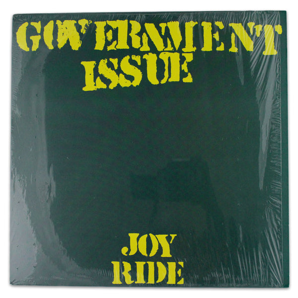 Government Issue ‎– Joy Ride - Rabbit Hole Records