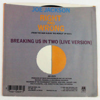 Joe Jackson ‎– Right And Wrong - Rabbit Hole Records