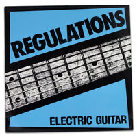 Regulations - Electric Guitar - Rabbit Hole Records