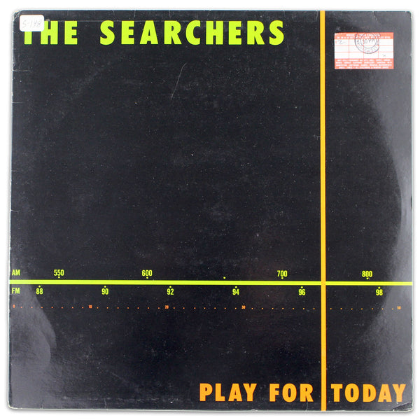 The Searchers ‎– Play For Today - Rabbit Hole Records