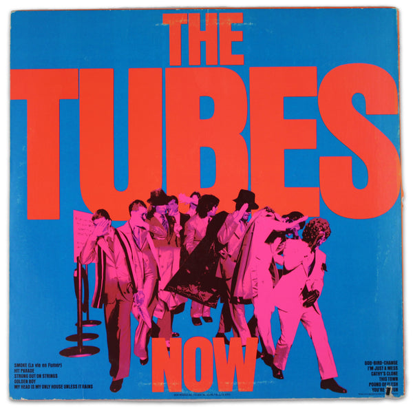 The Tubes ‎– Now - Rabbit Hole Records