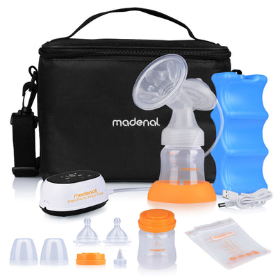Madenal Single Electric Breast Pump | New - MADENAL