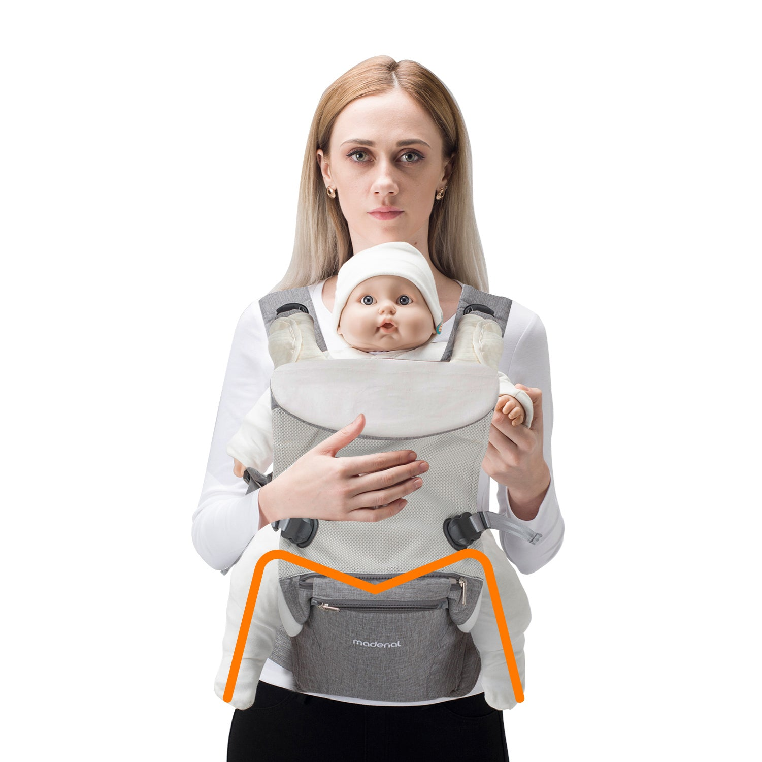 10 In 1 Ergonomic Baby Hip Seat Carrier Madenal 7