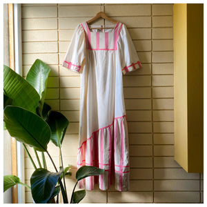 Vintage 70's Bohemian MuMu Dress - Bear Fox Babe