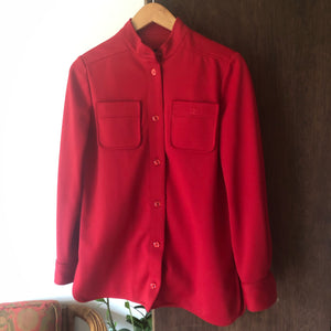 Vintage Givenchy Red Western Wear Button-Up - Bear Fox Babe