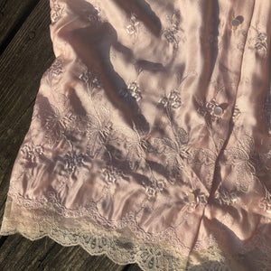 Vintage Miss Dior Pink Embroidered Set - Bear Fox Babe