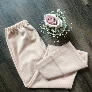 Vintage High Waisted Pinstripe Flares - Bear Fox Babe