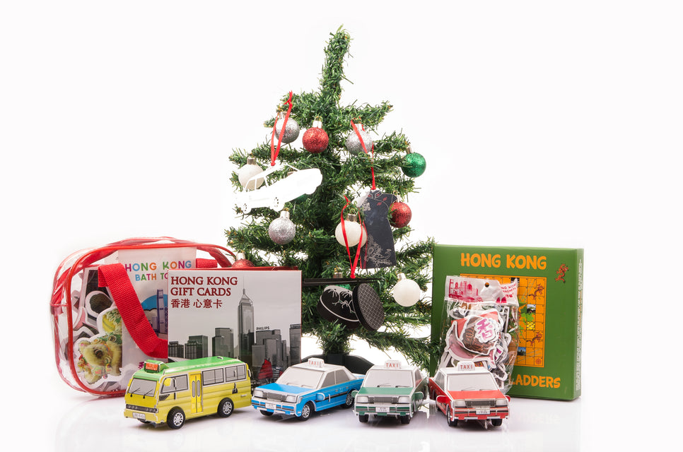 Hong Kong Gifts Souvenirs Family Game Christmas Ornament