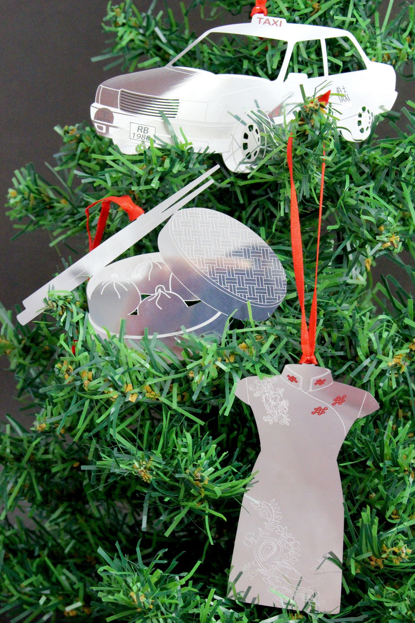 Hong Kong Christmas Ornaments