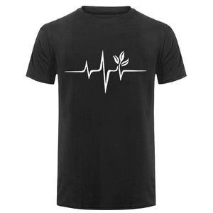 Men's Vegan Heartbeat Tee