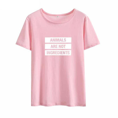 Animals Are Not Ingredients Tee