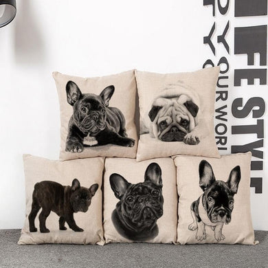 Classic Pup Pillow Cover