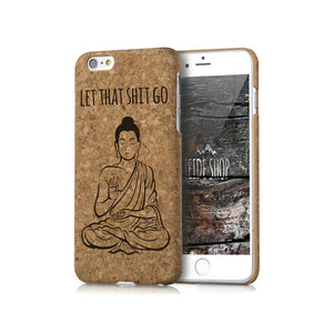Cork iPhone Case - Buddha Wooden
