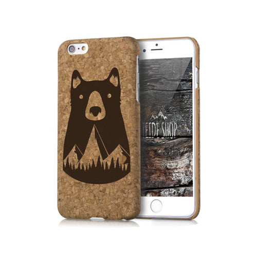 Cork iPhone Case -  Bear Mountains
