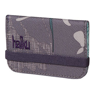 Haiku Women's RFID Eco Mini Wallet, Flower Fall Print