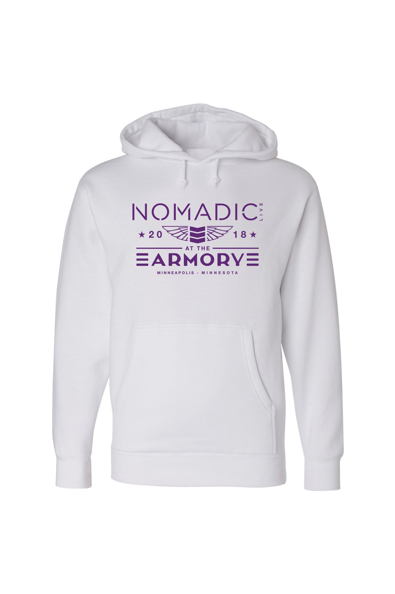 Nomadic @ The Armory Thank you Hoodie