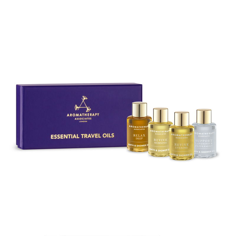 Aromatherapy Associates Essential Travel Oils / 4x7.5ml