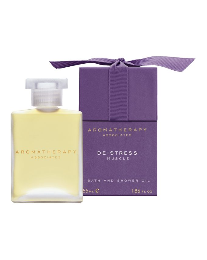 Aromatherapy Associates Destress Muscle Bath and Shower Oil / 55ml
