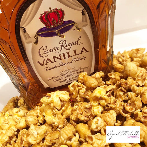 Vanilla Crown Royal Caramel Popcorn SHIPS *6/20-6/28*