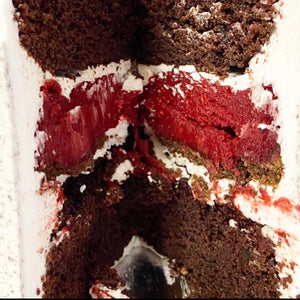 Cookies and Cream/Red Velvet Cheesecake Cake