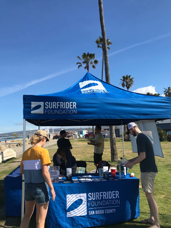 Beach Cleanup with Surfrider Foundation in Ocean Beach, San Diego