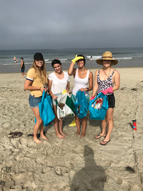 Pure Bliss Bikinis Beach Cleanup