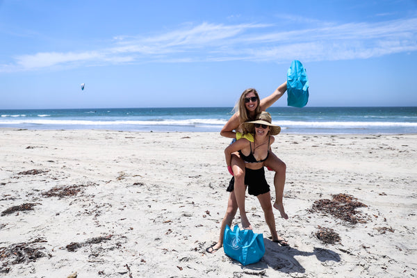 Pure Bliss Bikinis removes a pound of trash from the ocean for every bikini purchased - Here's why