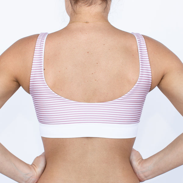 Port Barton Bikini Top - Pacific Stripe