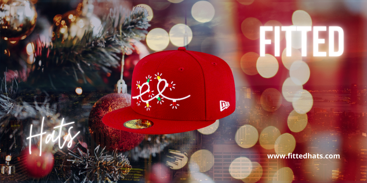 Christmas Fitted Hats