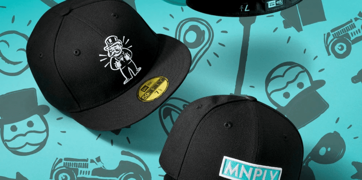 Monopoly Fitted Hats