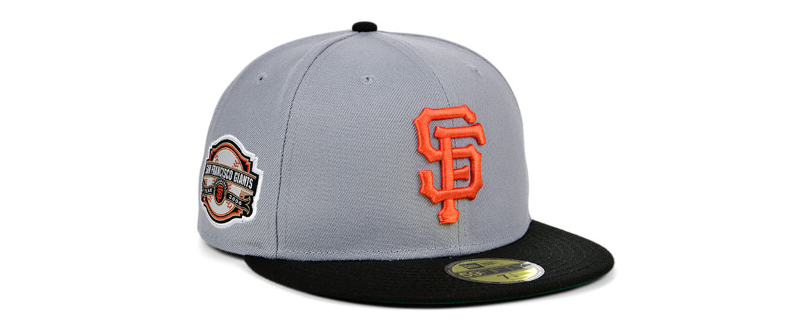 San Francisco Giants MLB Gray Anniversary Fitted Hat