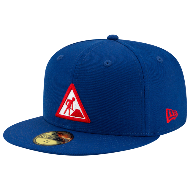 New Era Dave East Survival Fitted Hat Royal Blue