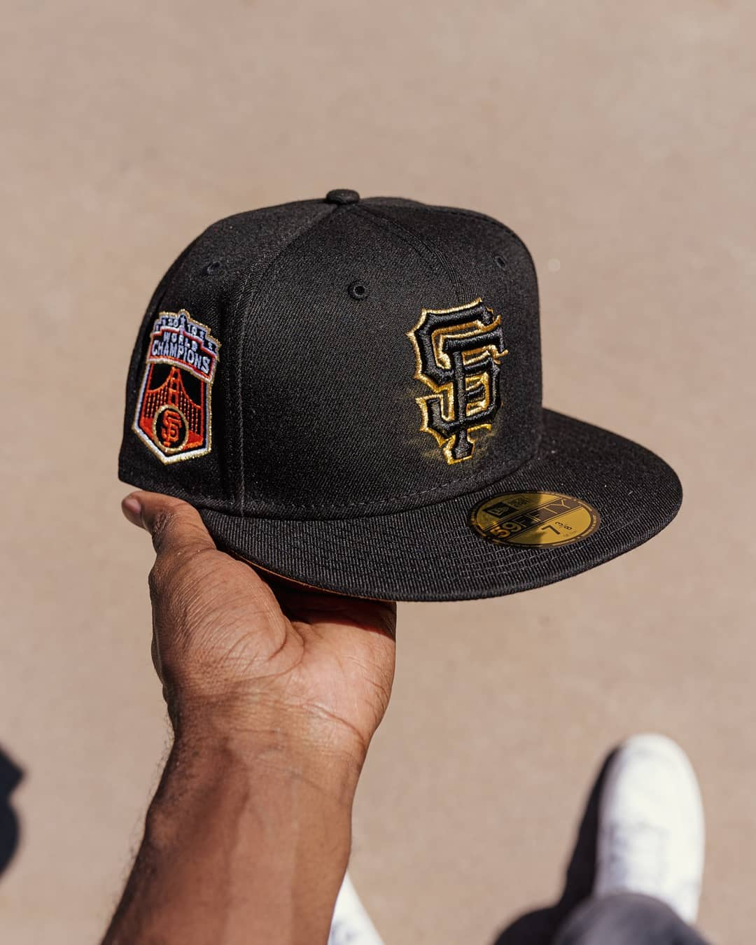 San Francisco Giants Hat Club Fitted Hat