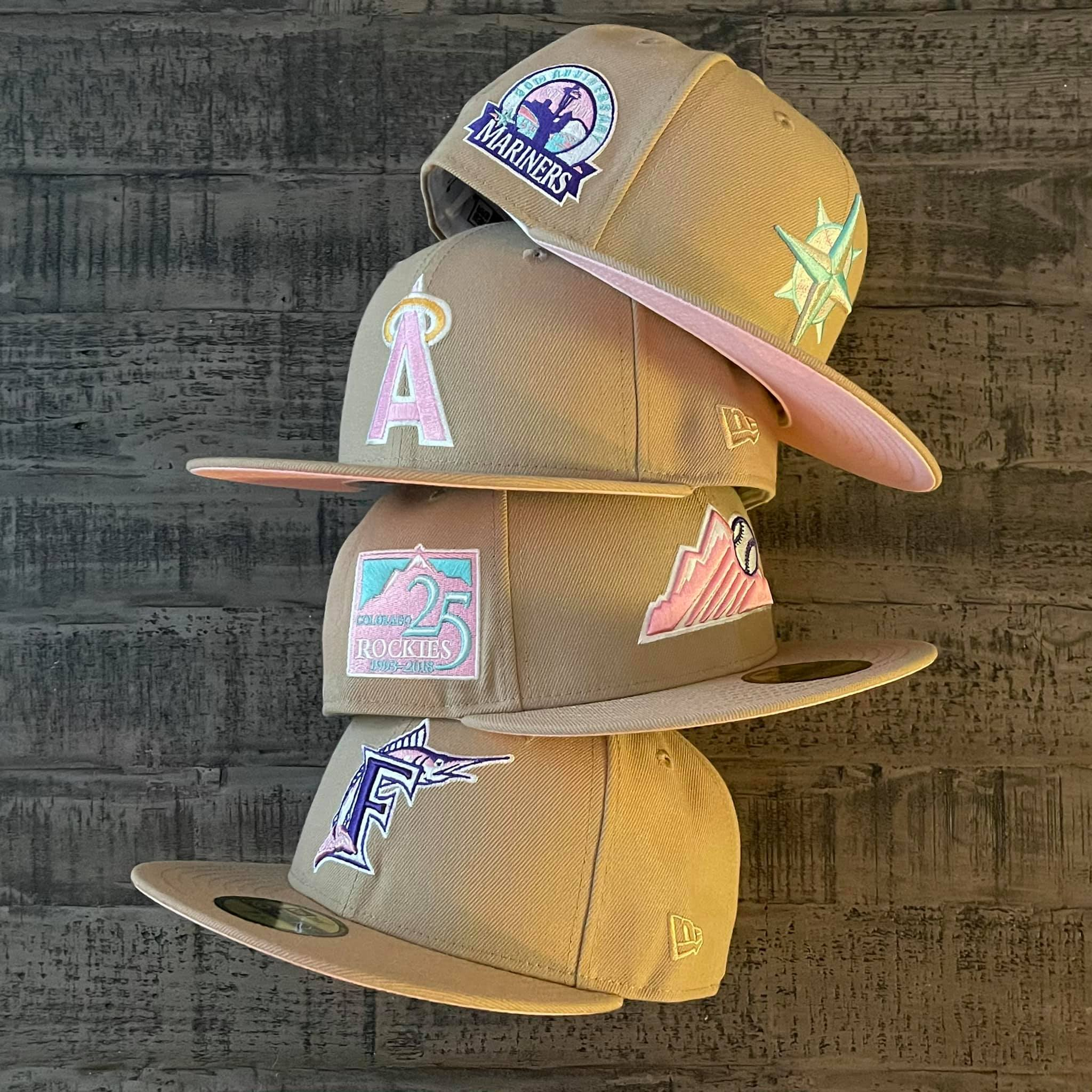 Sandstorm Fitted Hats