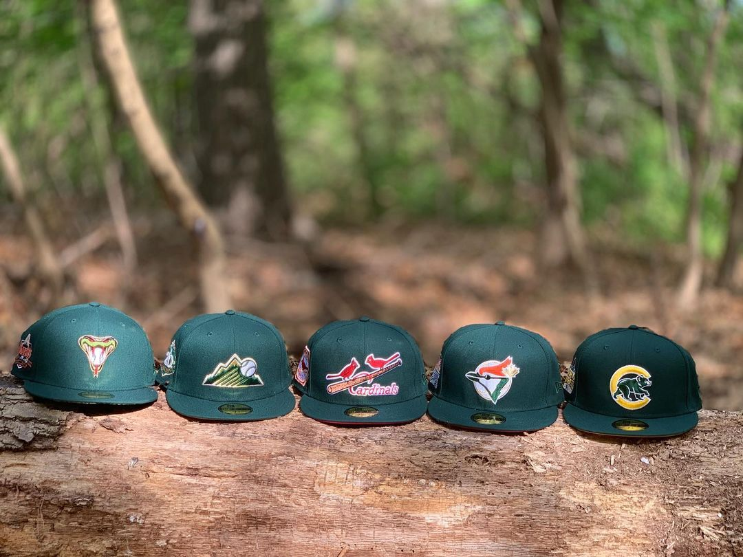 Forest Collection Fitted Hats