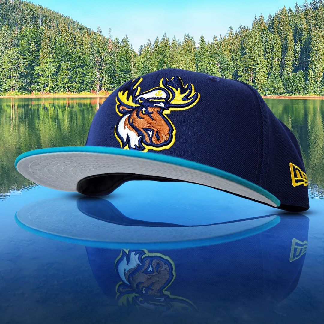 New Era Moose Fitted Hat