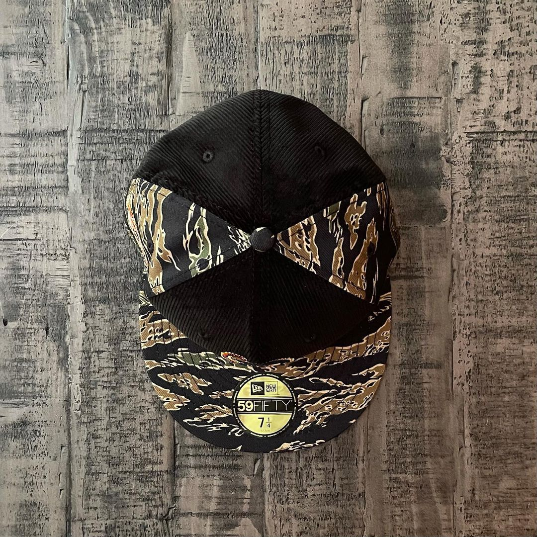 Detroit Tigers Corduroy Camo Fitted Hat