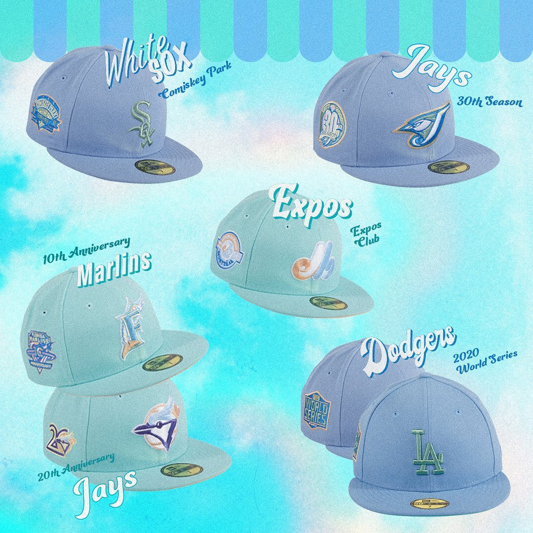 Sugar Shack Fitted Hats