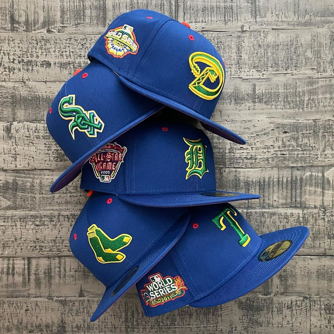ROYGBIV Fitted Hats