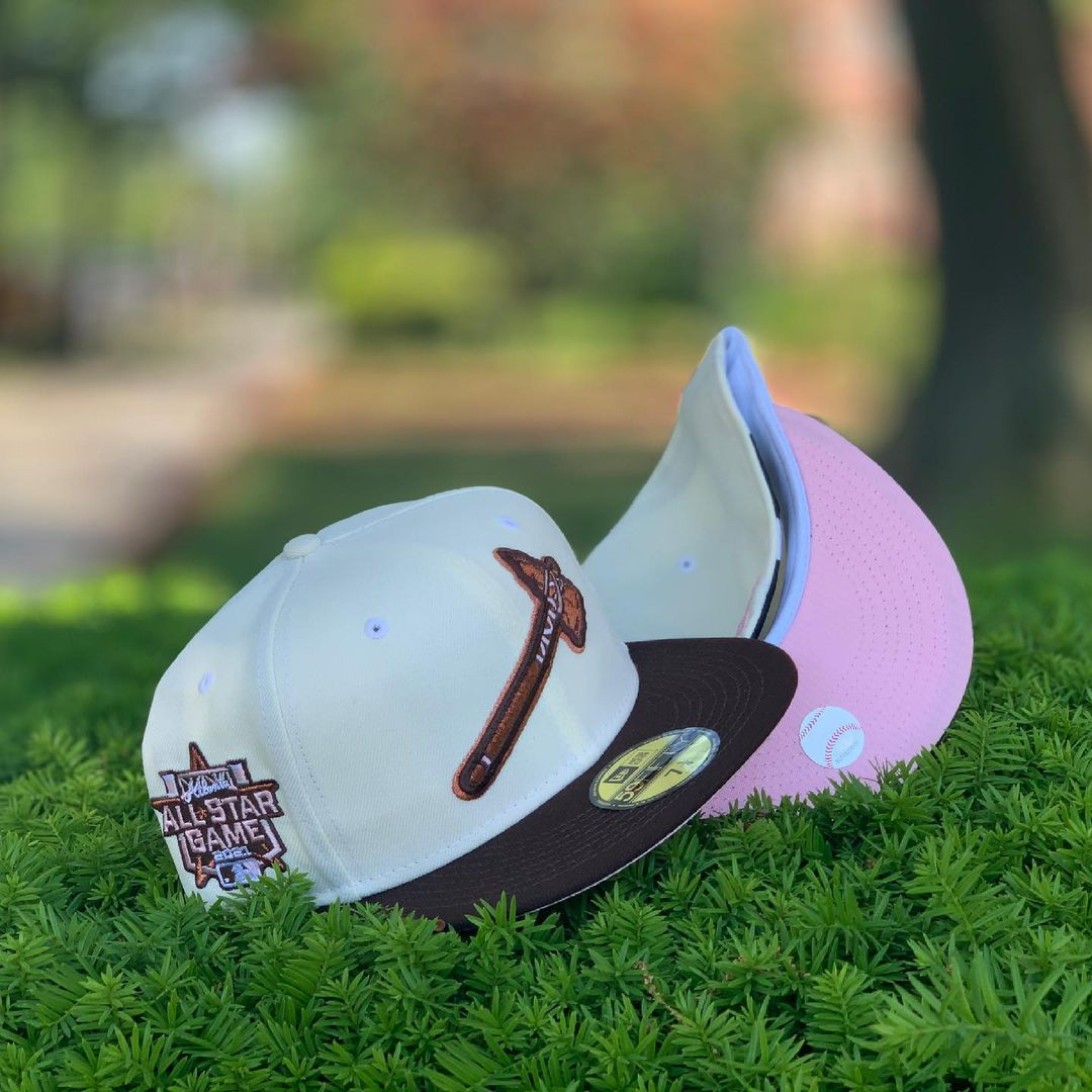 Neapolitan Ice Cream Fitted Hats