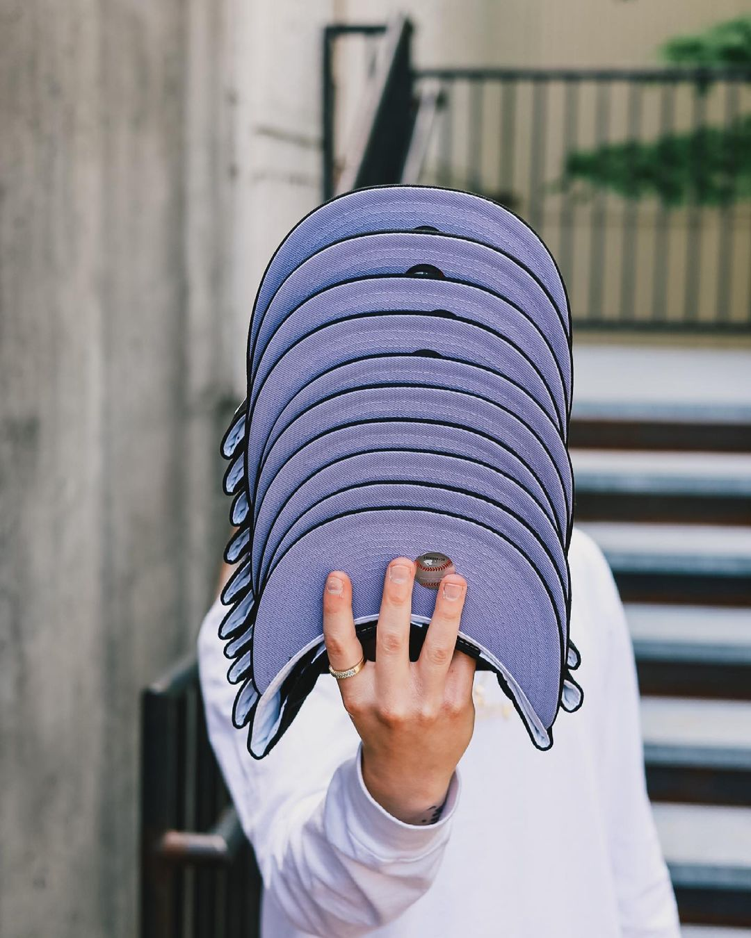 Purple Punch Fitted Hats
