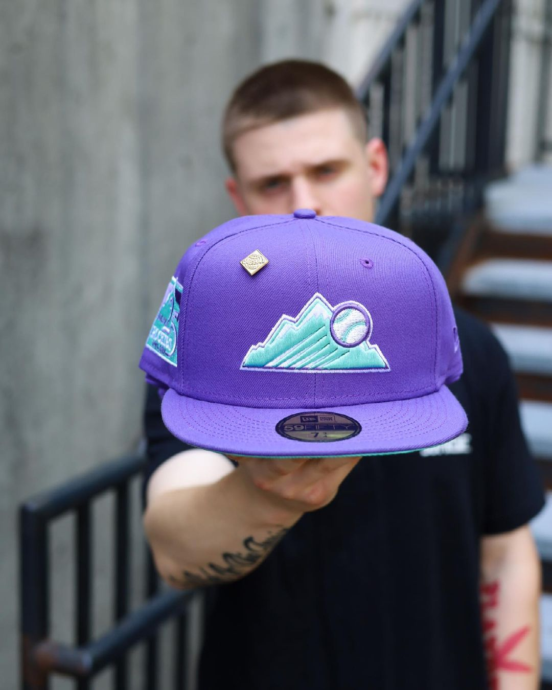 Sea Glass Fitted Hats