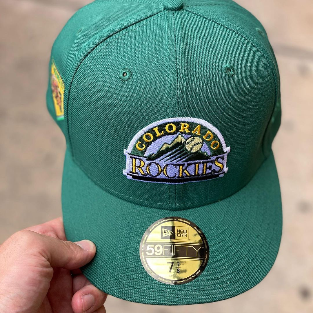 British Racing Green Fitted Hat