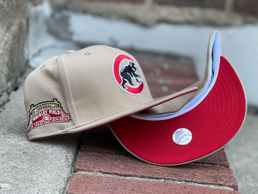Oatmeal Fitted Hats