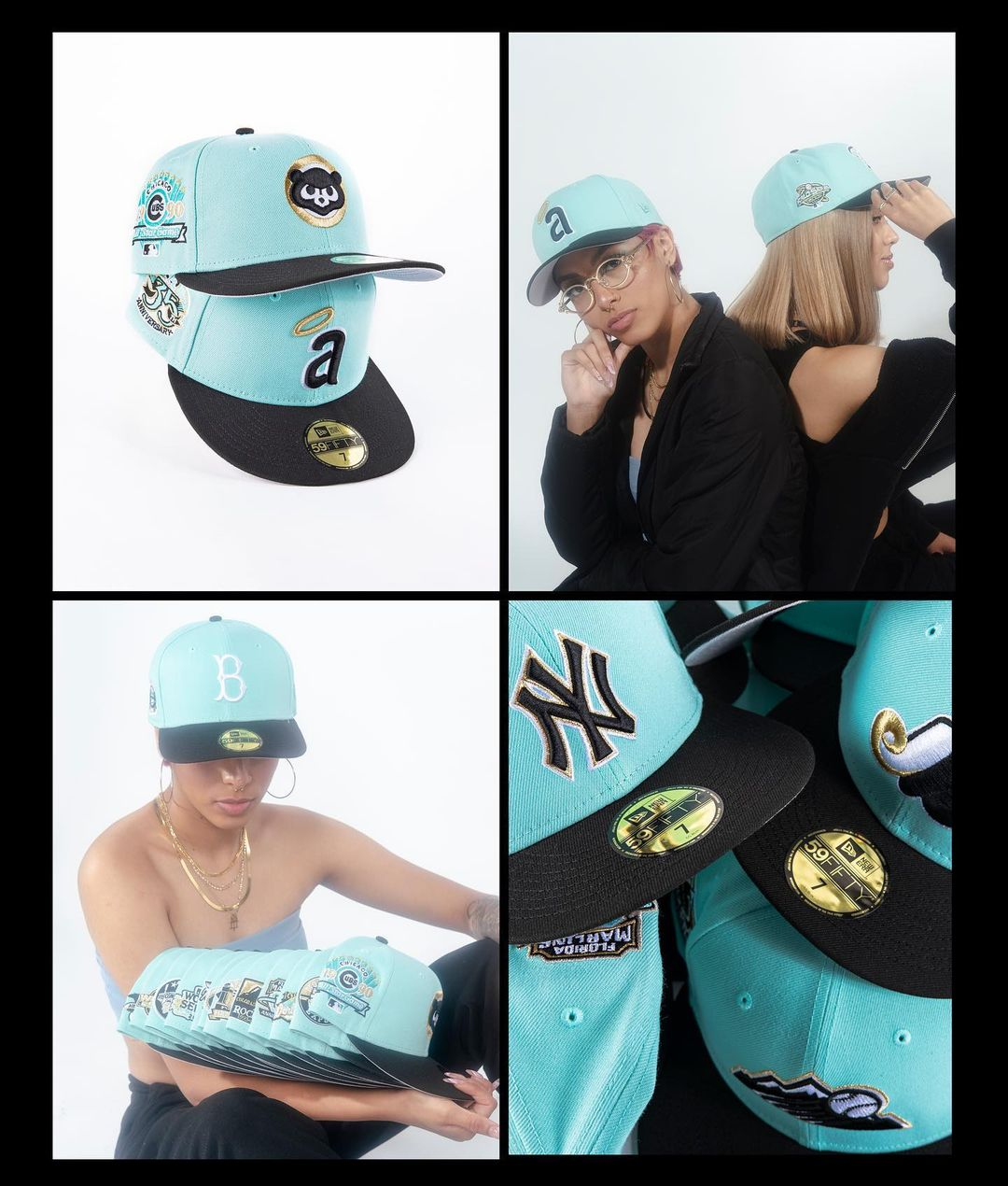 Mint Condition Fitted Hats