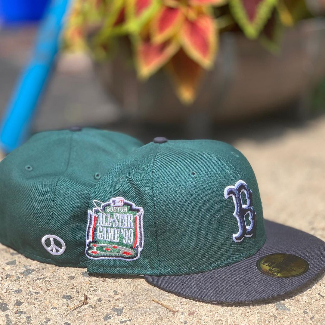 """Boston Red Sox """"99 Peace"""" 1999 ASG Fitted Hat"""