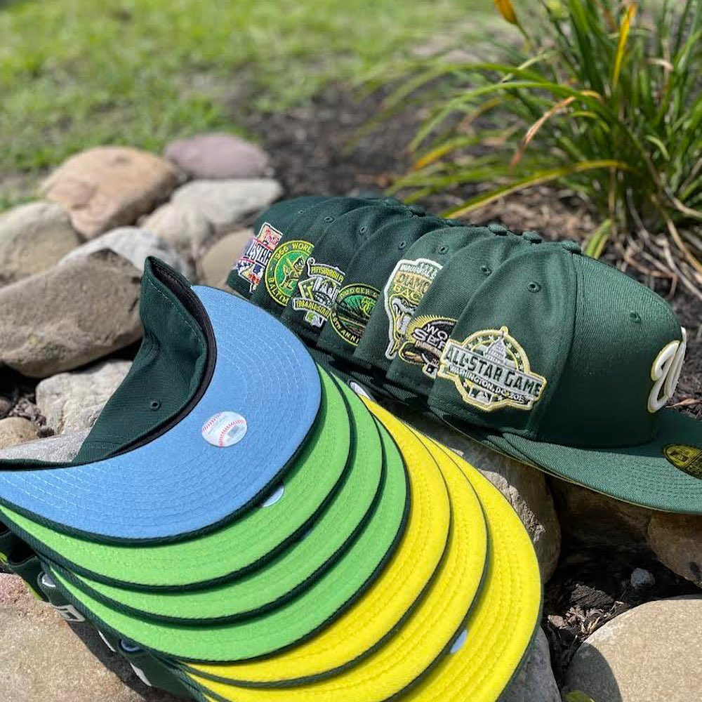 Elemental Fitted Hats Part 1 Earth