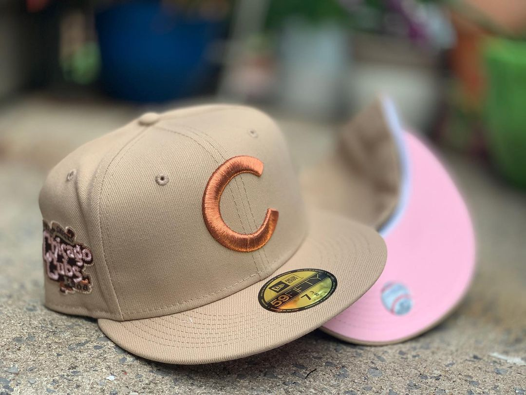 Desert Camels Fitted Hats